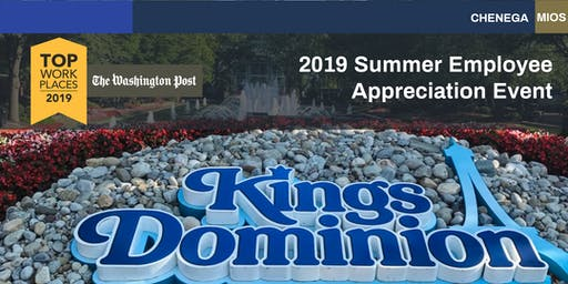Chenega Kings Dominion Trip