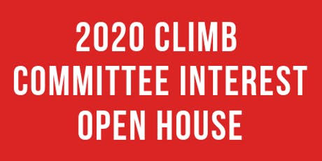 2020 Climb Leadership Interest Open House tickets