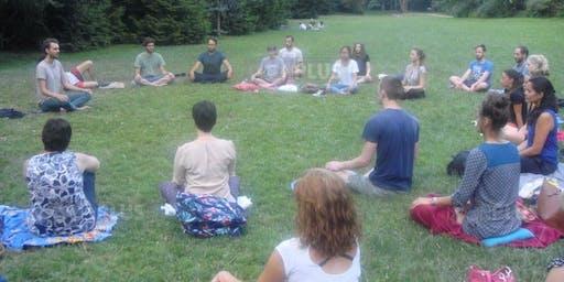Méditation au parc, pleine conscience en nature - HeadPause