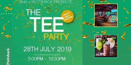 The TEE Party x Puttshack tickets