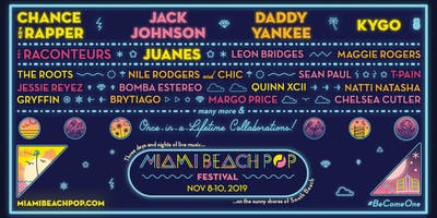 Miami Beach Pop Festival - November 8 - 10, 2019