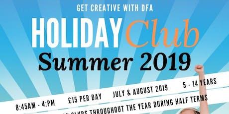 DFA Holiday Club Week 1  tickets