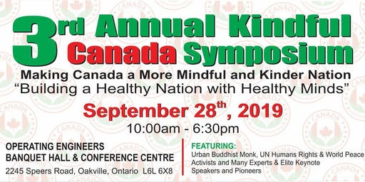 3rd Kindful Canada Symposium: Making Canada a More Mindful and Kind Nation