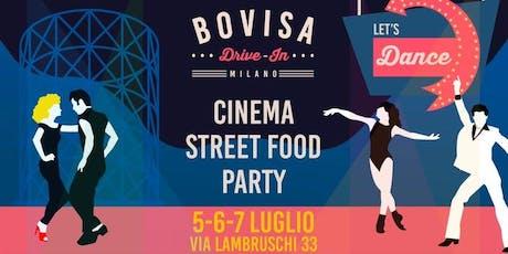 BOVISA DRIVE-IN / Dj Set, Street Food & Cinema / Let's Dance - AmaMi Communication  biglietti