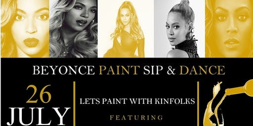 Beyonce Paint Party