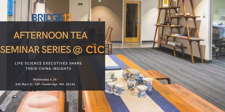 BRIDGE12 Afternoon Tea Seminar Series @ CIC tickets