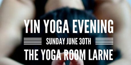 Yin Yoga evening tickets