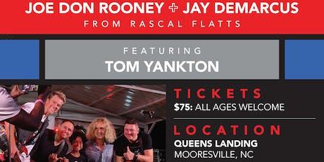 """Band of Golfers"" Rascal Flatts' Jay DeMarcus + Joe Don Rooney along with Tom Yankton tickets"