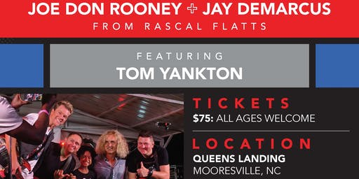 """Band of Golfers"" Rascal Flatts' Jay DeMarcus + Joe Don Rooney along with Tom Yankton"