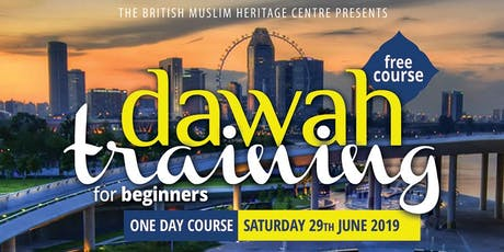 Free Dawah Training & New-Muslim Mentorship Training tickets