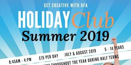 DFA Holiday Club Week 4 tickets