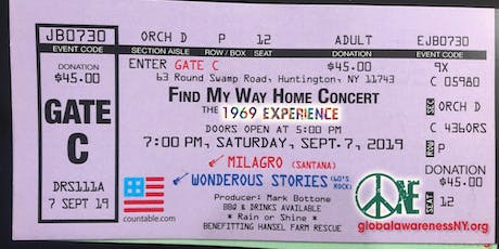 An Evening w Wonderous Stories - w Milagro opening - Find My Way Home tickets