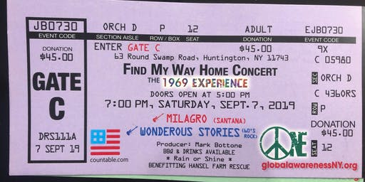 An Evening w Wonderous Stories - w Milagro opening - Find My Way Home