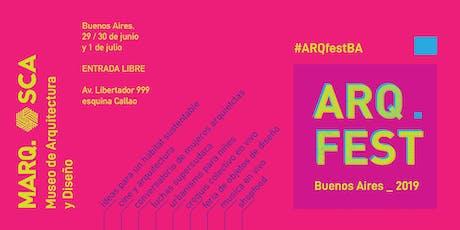 ARQFEST 2019 entradas