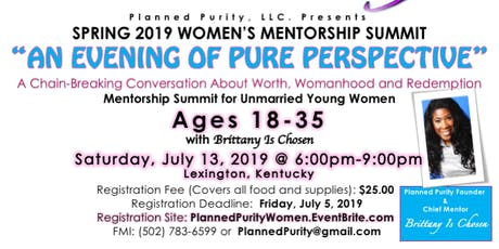 An Evening of Pure Perspective: A Chain-Breaking Event for Women of Worth tickets