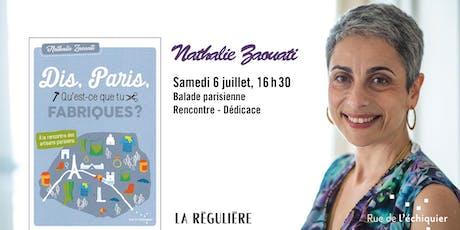 Balade parisienne avec Nathalie Zaouati billets