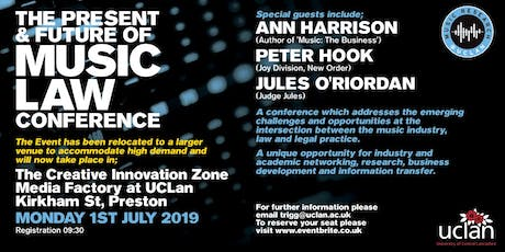The Present and Future of Music Law Conference tickets