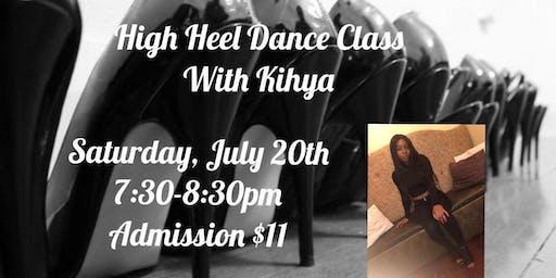 High Heel Dance Class