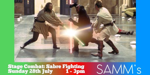 Stage Combat: Sabre Fighting.