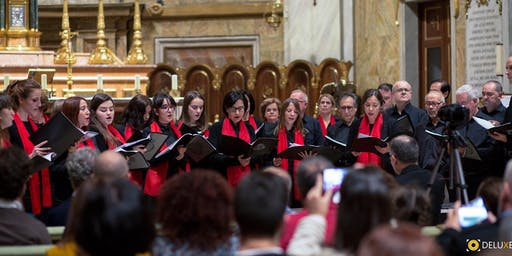Coro Rey Juan Carlos di Madrid in concerto