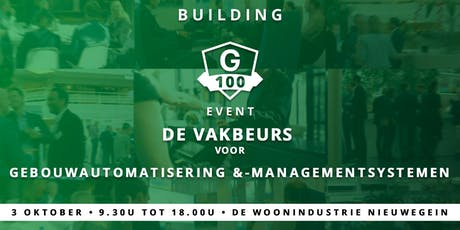 Building G100 Event 2019 tickets