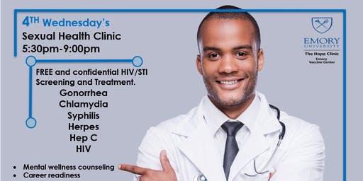 Emory Hope Clinic: 4th Wednesday's Sexual Health Clinic