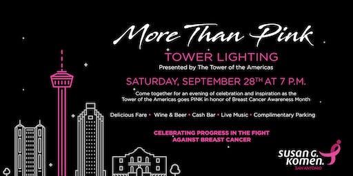 More Than Pink Tower Lighting