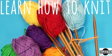 Learn how to Knit (Adults) tickets