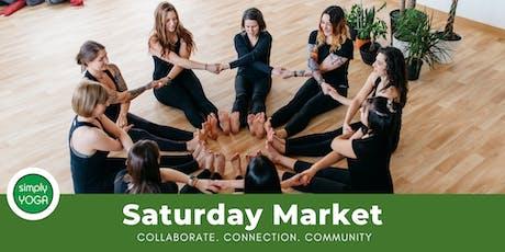 Simply Yoga Saturday Market tickets