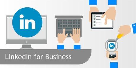 LinkedIn for Business Workshop tickets