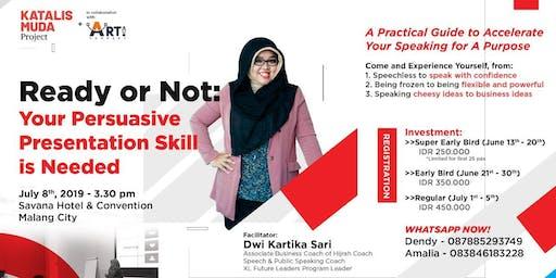 Persuasive Presentation Skill Training
