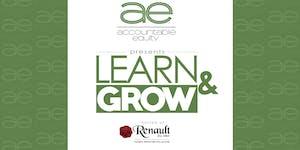 August Accountable Equity Learn & Grow