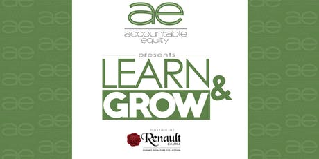 August Accountable Equity Learn & Grow  tickets