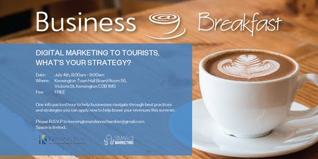 Business at Breakfast - Digital Marketing to Tourists tickets