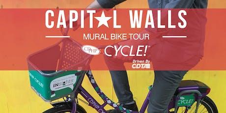#CapitalWalls Mural Bike Tour tickets