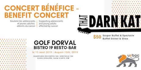 "VOBOC's Benefit Concert ""ThatDarnKat"" Band tickets"