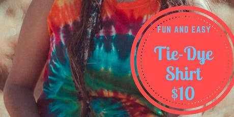 Art Fest Tie-dye T shirt Station  tickets