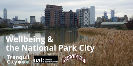 Tranquil City Co-creation: Wellbeing & the National Park City tickets