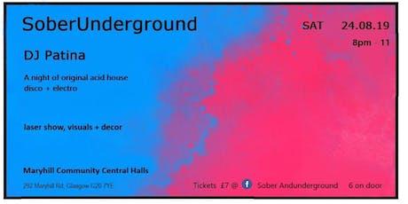 Sober Underground tickets