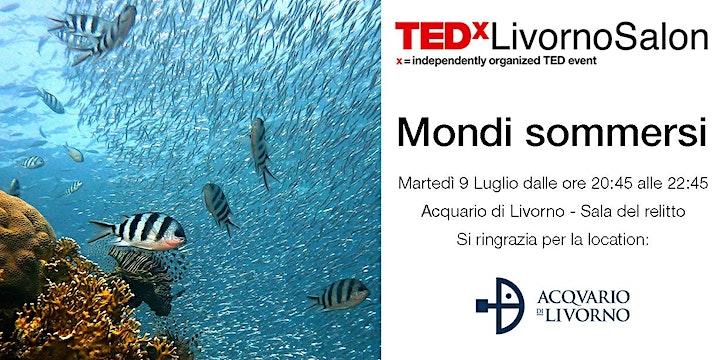 Immagine TEDxLivornoSalon Mondi Sommersi
