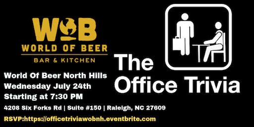 The Office Trivia at World of Beer North Hills