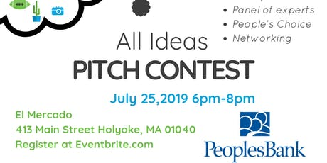 Spark EforAll Holyoke All Ideas Summer Pitch Contest  tickets
