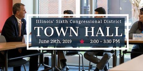 Congressman Casten Town Hall tickets