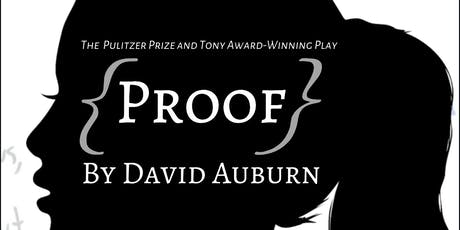 Proof by David Auburn tickets