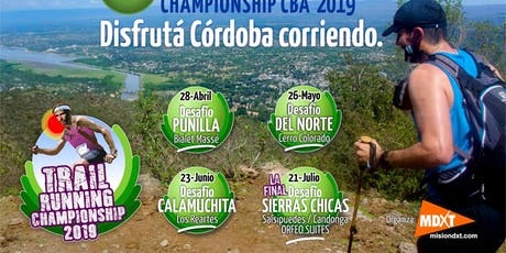 DESAFÍO SIERRAS CHICAS, TRAIL RUNNING SALSIPUEDES 21K,12K,7K y CAMINANTES.  entradas