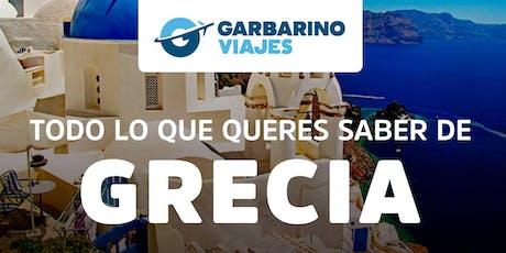Ciclo de Charlas: Bienvenidos a Bordo - Especial GRECIA entradas