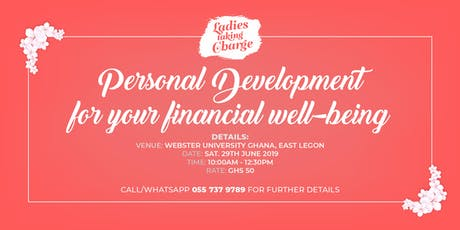 Personal Development for your Financial well-being tickets