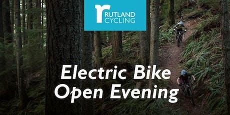 Electric Bike Open Evening tickets