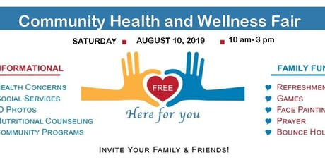 Community Health and Wellness Fair tickets