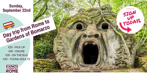 Sign Up for Day trip from Rome to Gardens of Bomarzo | I Mostri di Bomarzo